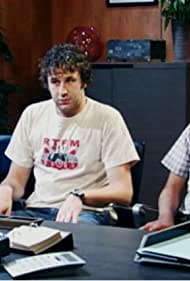 Chris O'Dowd, Richard Ayoade, and Katherine Parkinson in The IT Crowd (2006)
