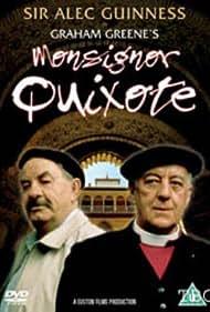 Alec Guinness and Leo McKern in Monsignor Quixote (1987)