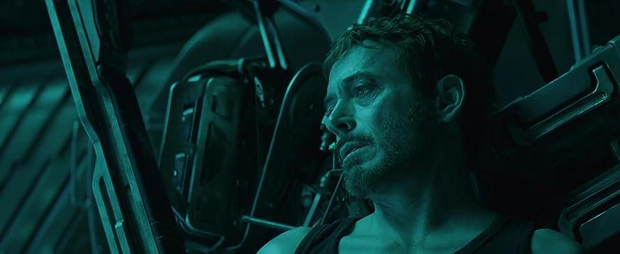 Robert Downey Jr. alias Tony Stark et Iron Man
