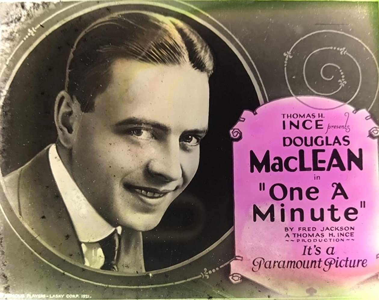 Douglas MacLean in One a Minute (1921)