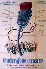 Il microfono è vostro Poster