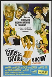 The Ghost in the Invisible Bikini Poster