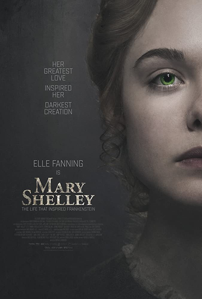 Elle Fanning in Mary Shelley (2017)