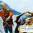 Alan Ladd and Hugh O'Brian in Saskatchewan (1954)