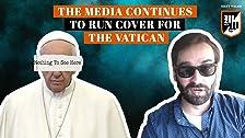 Los medios de comunicación continúan para cubrir el Vaticano