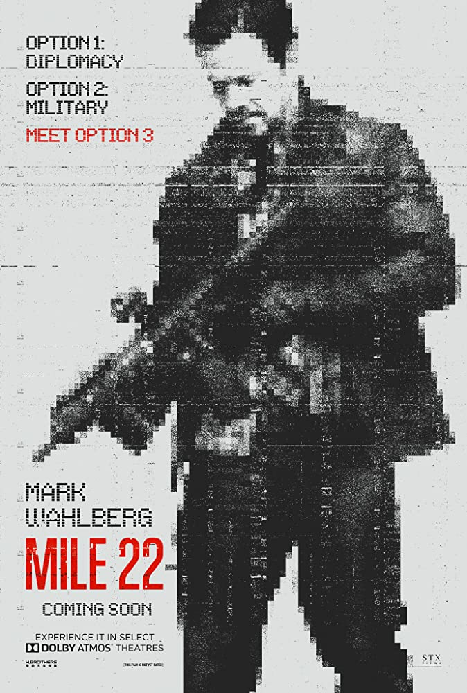 Poster film Mile 22.