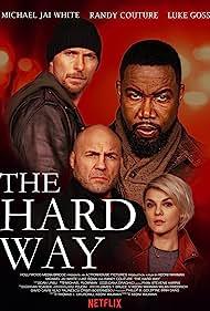 Luke Goss, Michael Jai White, Randy Couture, and Madalina Anea in The Hard Way (2019)