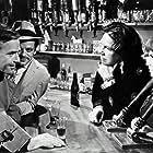 Klaus Kinski, Elisabeth Flickenschildt, Joachim Fuchsberger, and Brigitte Grothum in Das Gasthaus an der Themse (1962)