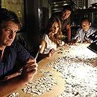 Jon Huertas, Seamus Dever, Nathan Fillion, and Stana Katic in Castle (2009)