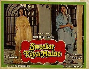 Sweekar Kiya Maine movie, song and  lyrics
