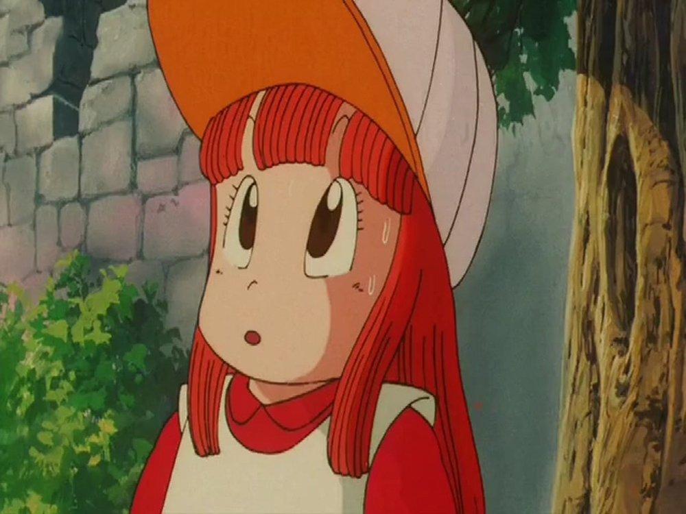 Tomiko Suzuki in Dragon Ball: Shenron no Densetsu (1986)