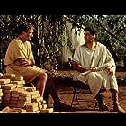 Robin Williams and John Turturro in Being Human (1994)