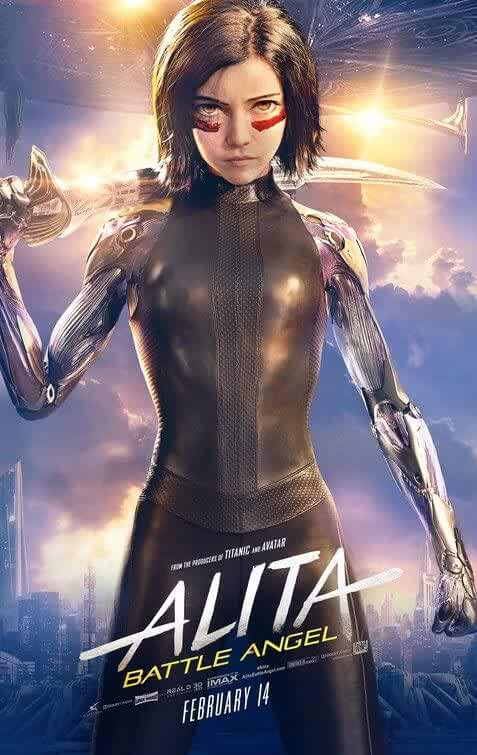 Alita: Battle Angel (2019) 720p HEVC Proper HDRip x265 ESubs [Dual Audio] [Hindi (Cleaned) or English] [550MB]