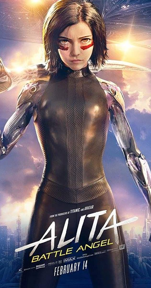 Alita Battle Angel 2019.HDRip.XviD-EVO