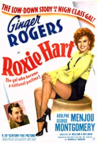 Ginger Rogers and George Montgomery in Roxie Hart (1942)
