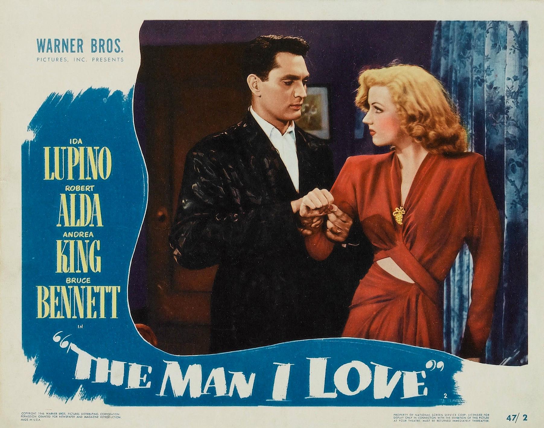 Robert Alda and Dolores Moran in The Man I Love (1946)