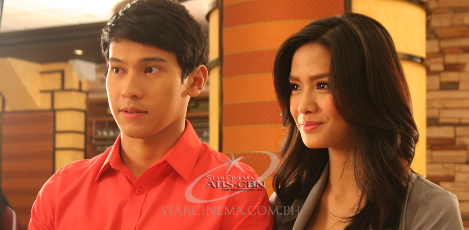 Erich Gonzales and Enchong Dee in I Do (2010)