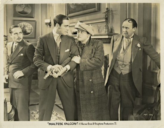 Ricardo Cortez, Dudley Digges, Dwight Frye, and Otto Matieson in The Maltese Falcon (1931)