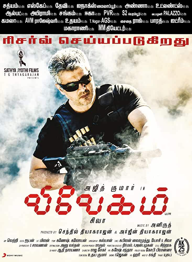 Vivegam (2017) In Hindi