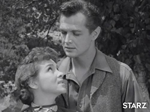 Barbara Bestar and Steven Clark in Death Valley Days (1952)