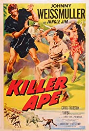 Killer Ape (1953) Poster - Movie Forum, Cast, Reviews