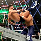 Fergal Devitt and Manny Andrade in WWE Money in the Bank (2019)