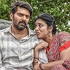 Arya and Indhuja Ravichandran in Magamuni (2019)