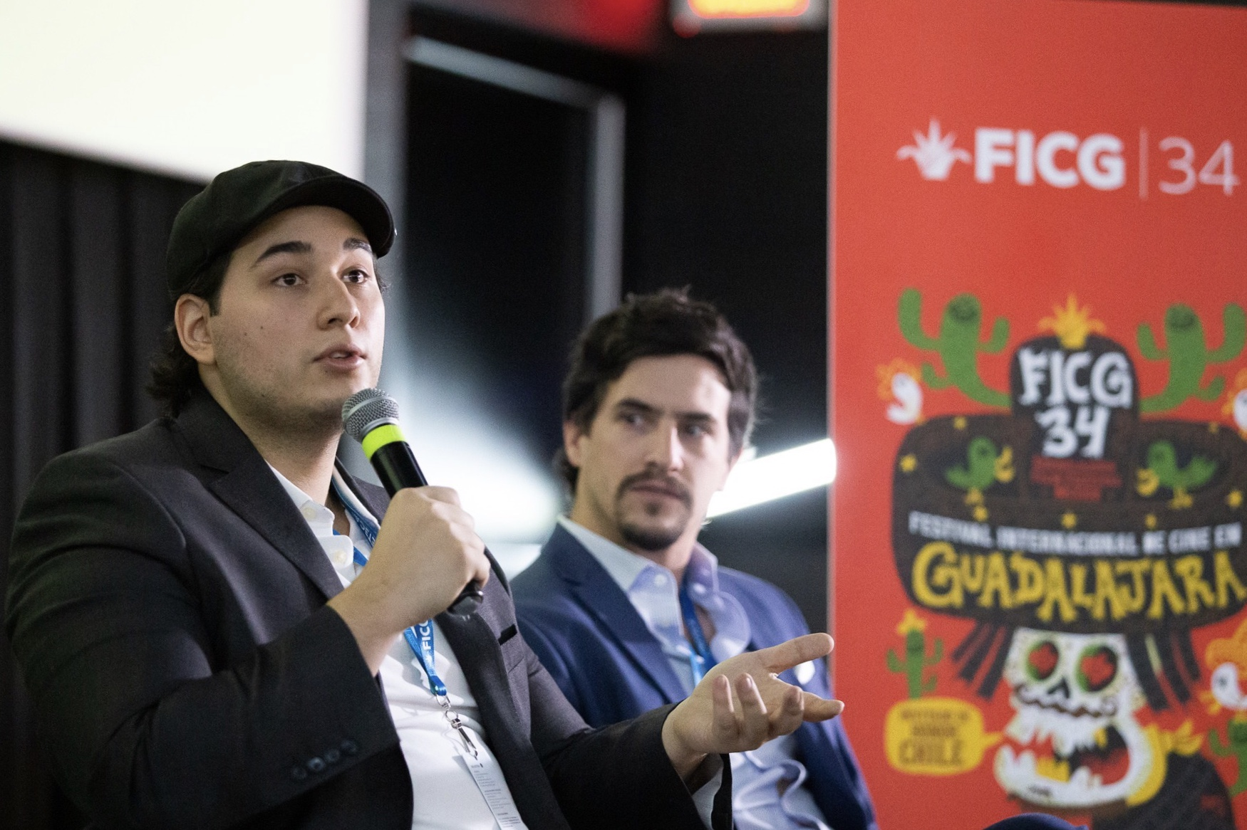 """Screening of """"Forgiveness"""" (Work In Progress) followed by Q&A with director/producer Alex Kahuam and producer Santiago Ortiz-Monasterio at the Guadalajara International Film Festival"""