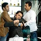Bobby Deol, Irrfan Khan, and Suniel Shetty in Thank You (2011)