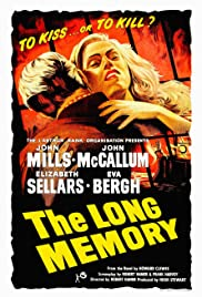 Image result for The Long Memory (1953) Poster