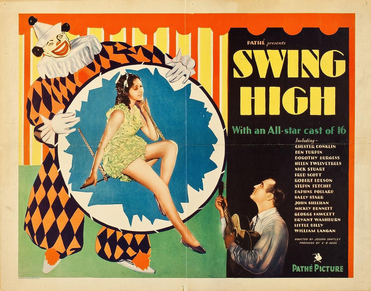 Fred Scott and Helen Twelvetrees in Swing High (1930)