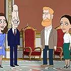 Orlando Bloom, Lucy Punch, Condola Rashad, and Iwan Rheon in The Prince (2021)
