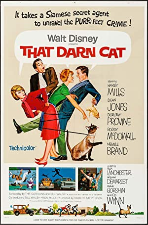 That Darn Cat! Poster Image