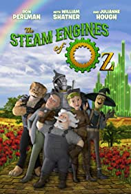 Ron Perlman, William Shatner, and Julianne Hough in The Steam Engines of Oz (2018)