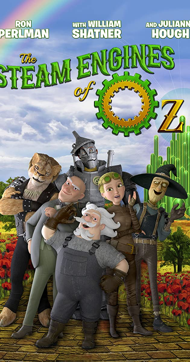 Subtitle of The Steam Engines of Oz