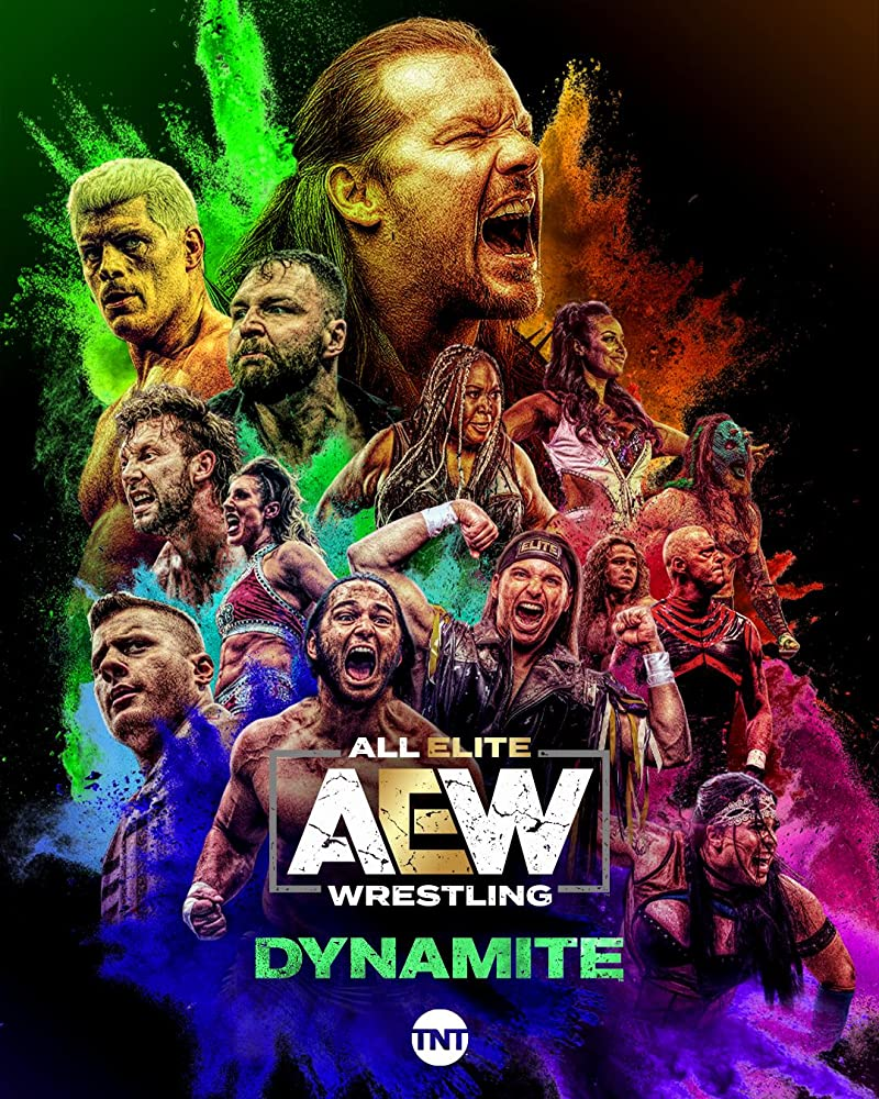 AEW Dynamite (14th April 2021) English HDTV 350MB Download