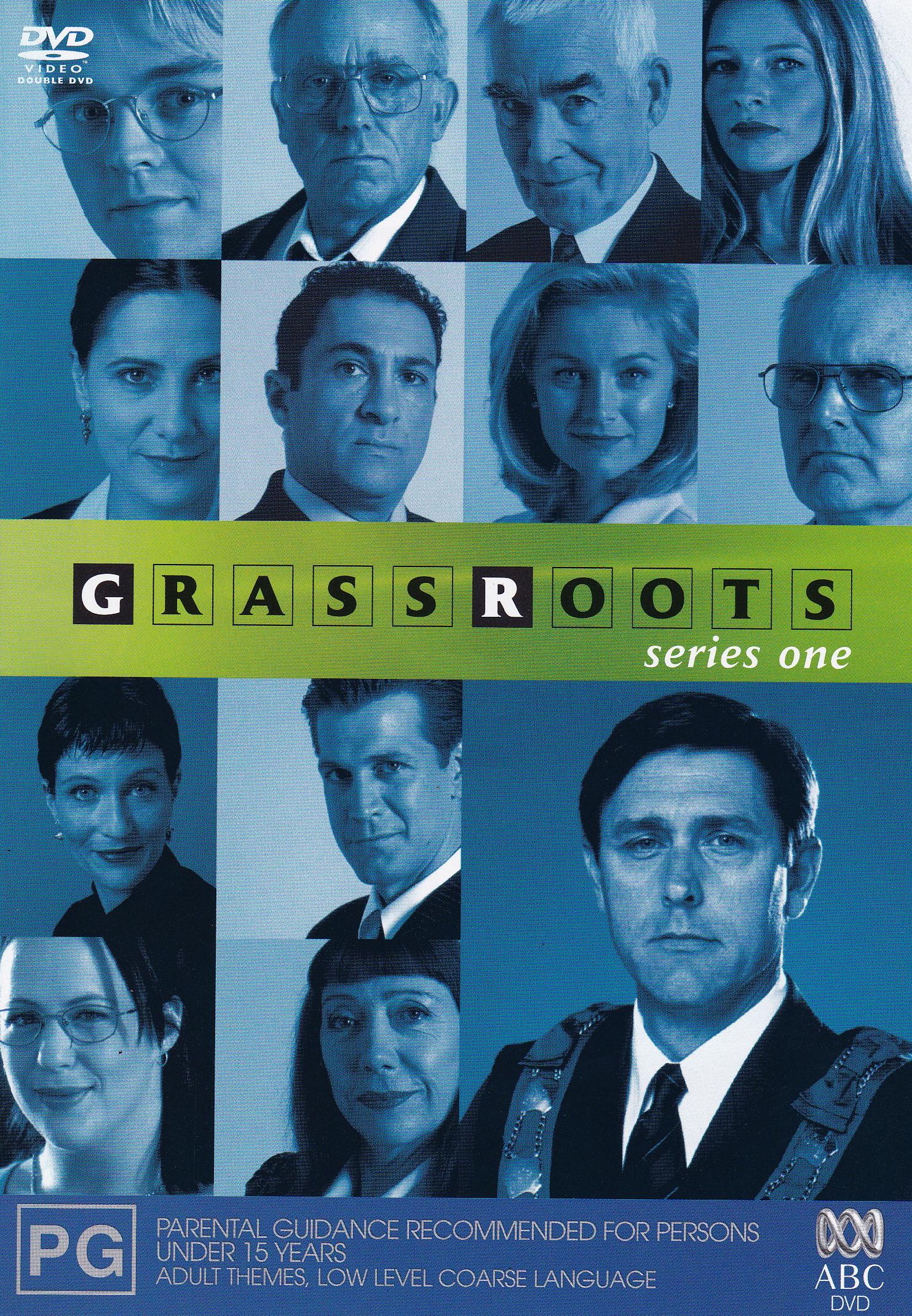 Zoe Carides, John Clayton, Rhondda Findleton, Chris Haywood, Tammy Macintosh, Geoff Morrell, and Rhys Muldoon in Grass Roots (2000)