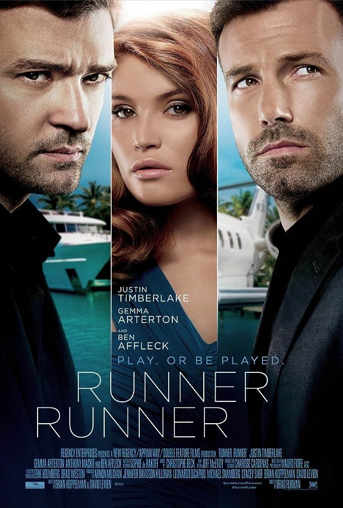 Ben Affleck, Justin Timberlake, and Gemma Arterton in Runner Runner (2013)