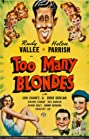 Too Many Blondes (1941) Poster