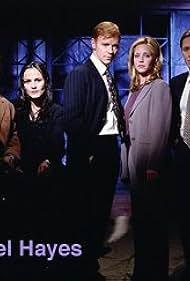 David Caruso, Hillary Danner, Peter Outerbridge, Rebecca Rigg, and Ruben Santiago-Hudson in Michael Hayes (1997)