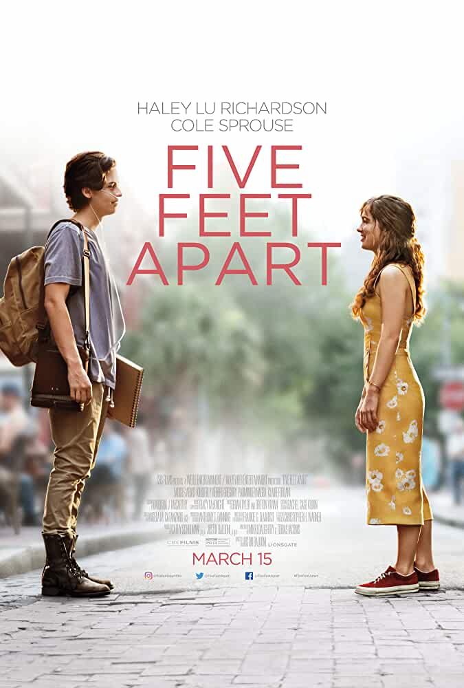 Five Feet Apart | 2019 | English | 1080p | 720p | BluRay
