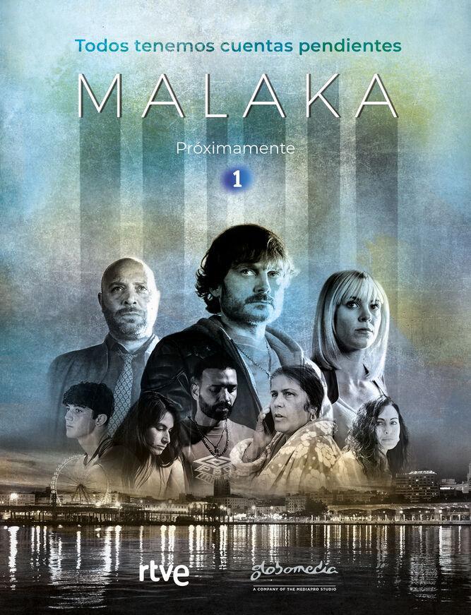 Vicente Romero, Maggie Civantos, and Salva Reina in Malaka (2019)