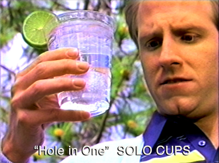 National TV Ad for Solo Cups - Hole in One