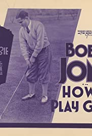 How I Play Golf, by Bobby Jones No. 8: 'The Brassie' Poster