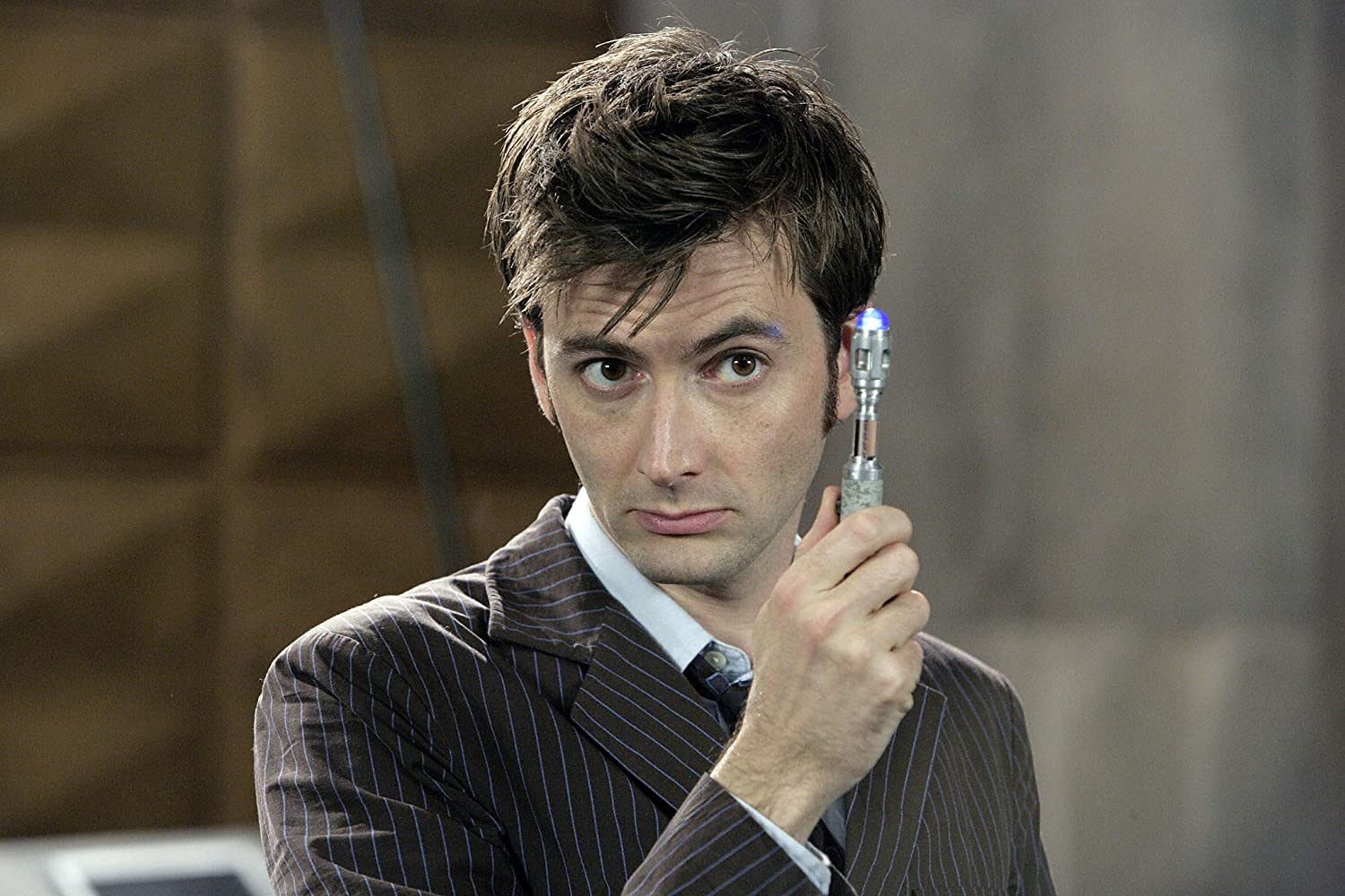 David Tennant in Doctor Who 2005