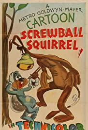 Screwball Squirrel Poster