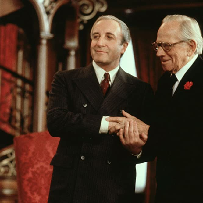 Peter Sellers and Melvyn Douglas in Being There (1979)