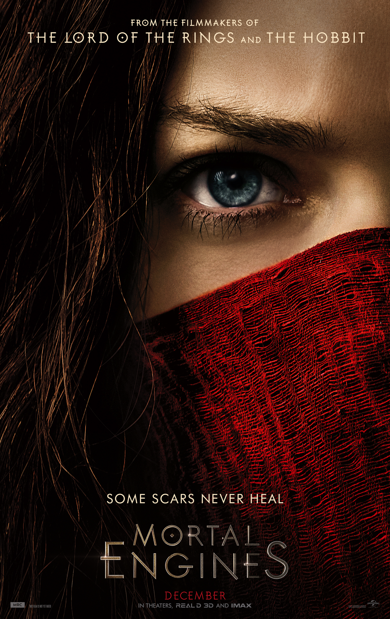 Image result for mortal engines movie poster