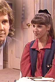 Mayim Bialik and Parker Stevenson in Blossom (1990)