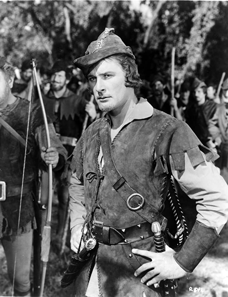 Errol Flynn in The Adventures of Robin Hood 1938
